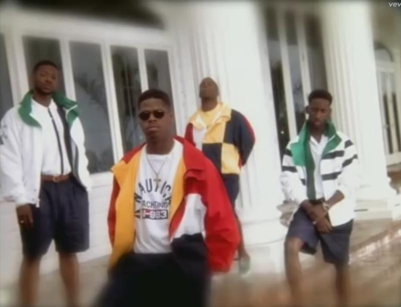 "Boyz II Men, from the ""I'll Make Love To You"" video."
