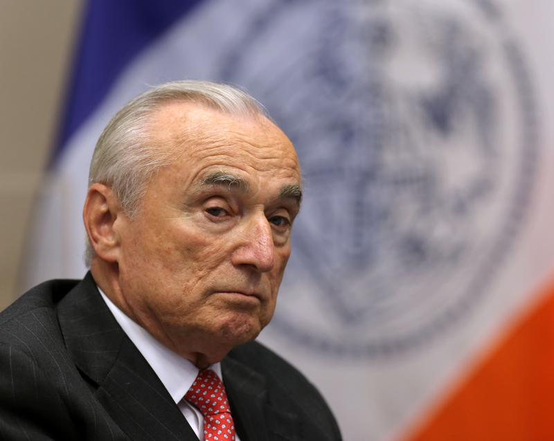 Police Commissioner William Bratton is stepping down on Sept. 15.