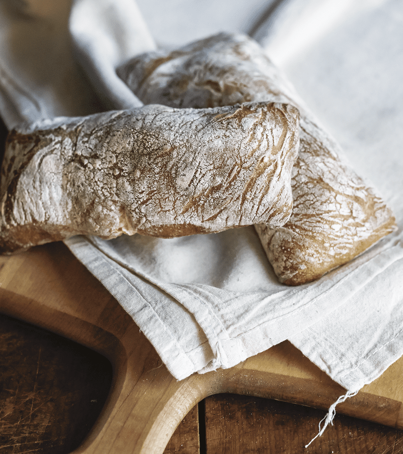 Sarah Black's ciabatta bread.