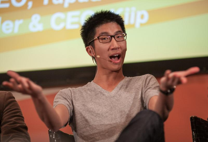 Brian Wong, 22, founder and CEO of Kiip