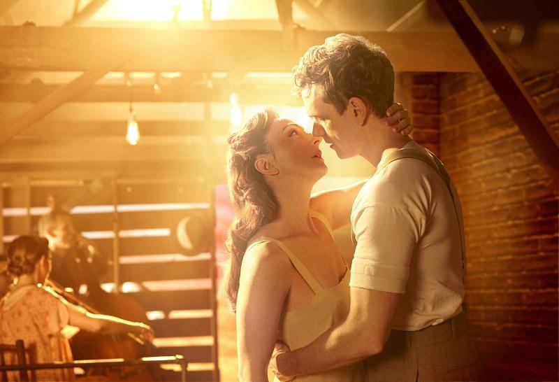 Carmen Cusack and Paul Alexander Nolan in 'Bright Star' the musical.