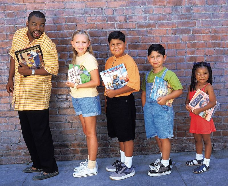LeVar Burton hosted Reading Rainbow on PBS from 1983 to 2006.