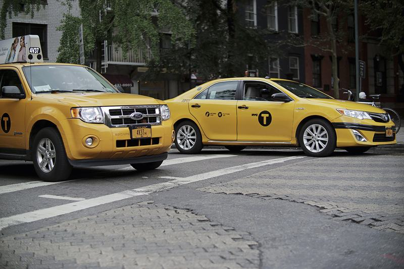 Prices have plummeted on medallions for yellow cabs.