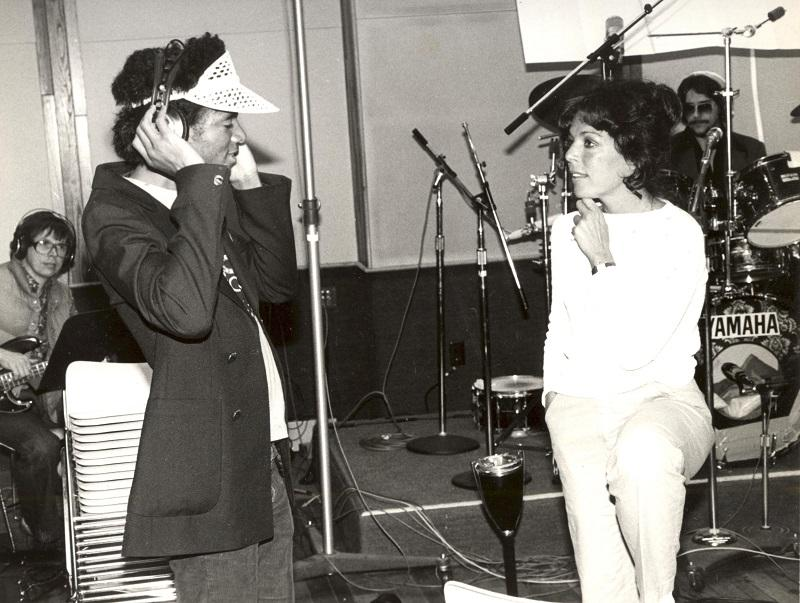 Carole Bayer Sager pictured with Michael Jackson.