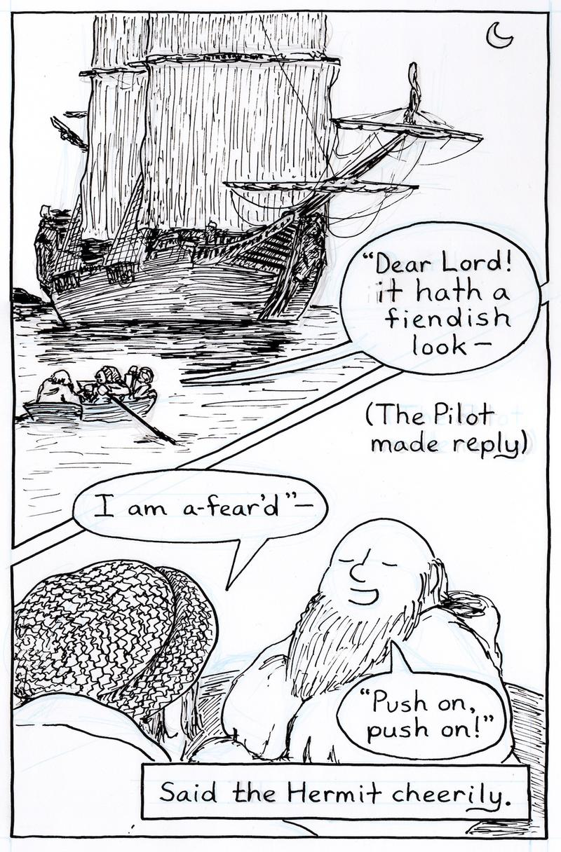 From Charlie Capp's adaptation of <em>Rime of the Ancient Mariner</em>