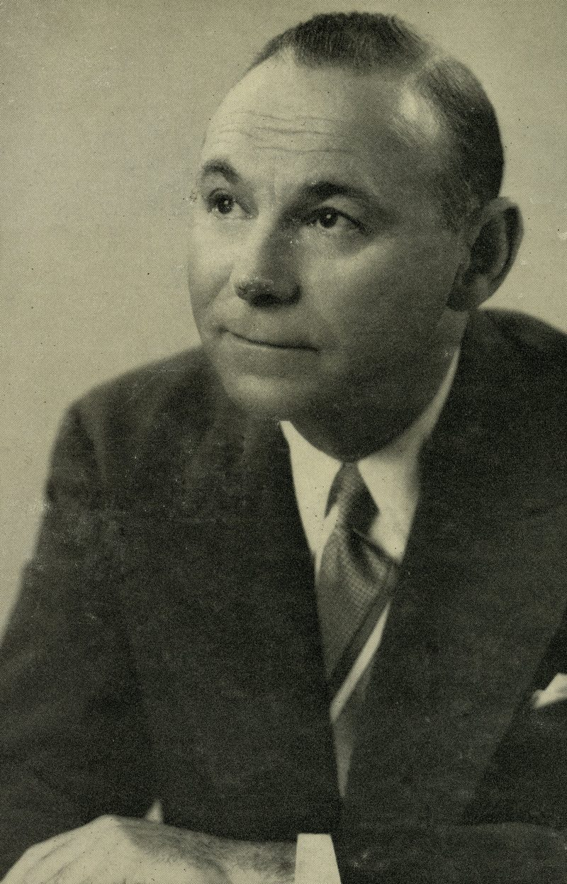 Abram Chasins WQXR publicity photo