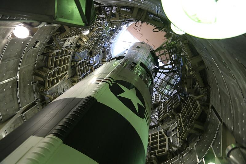 A Titan Missile from Robert Kenner's documentary COMMAND AND CONTROL, opening September 14 at Film Forum.