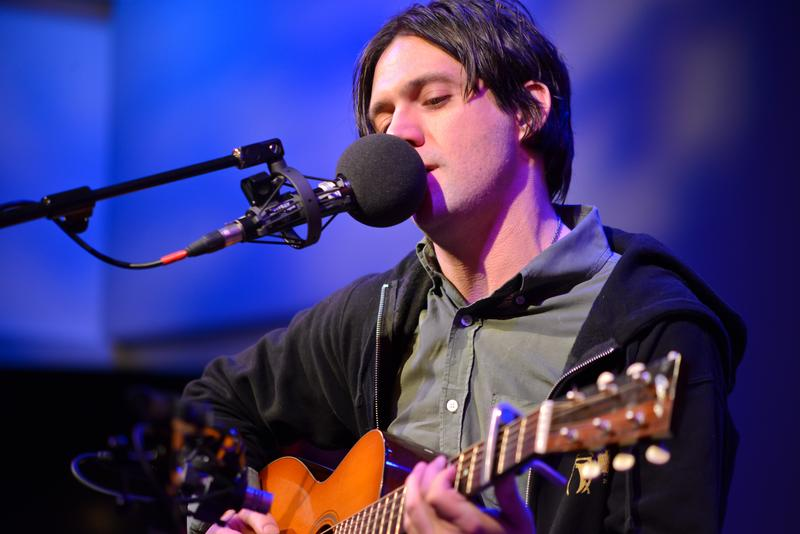 Conor Oberst performs at Soundcheck's Gigstock live at WNYC's Greene Space.