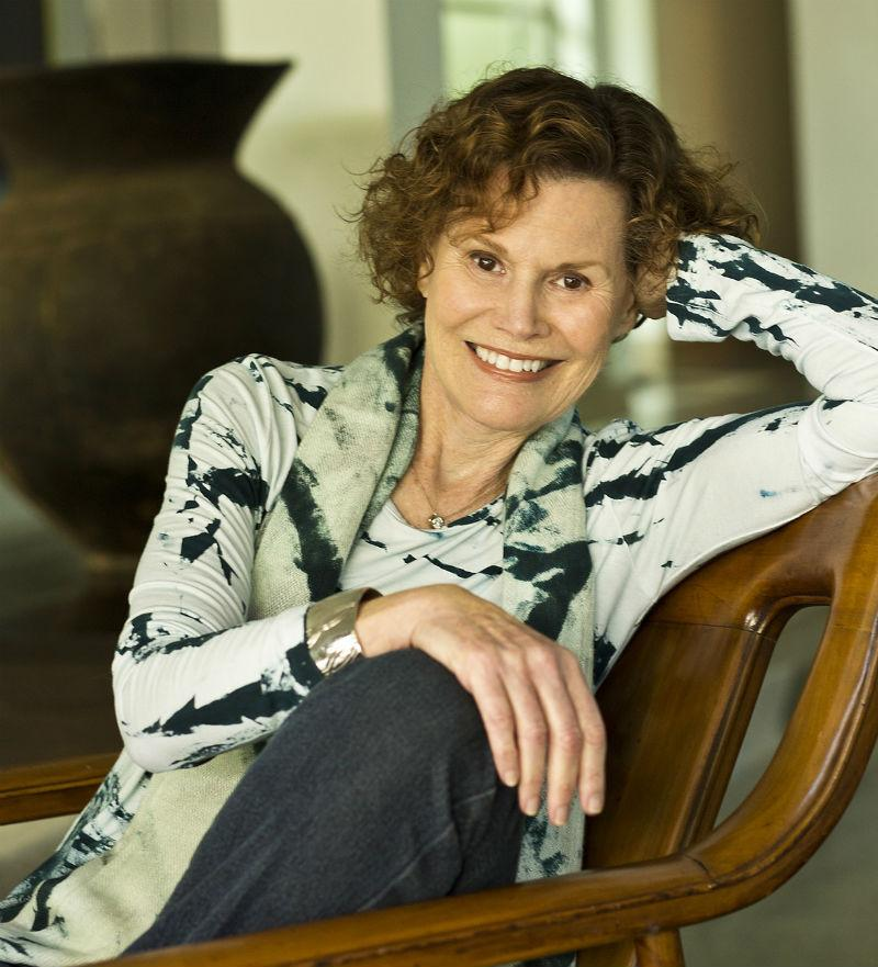 Author Judy Blume.