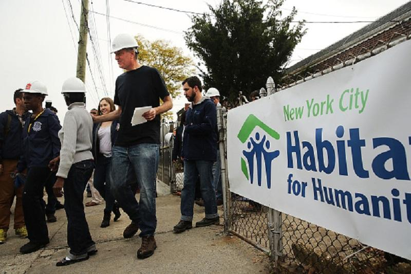 "As part of its mission statement, Habitat for Humanity New York City says it ""transforms lives and communities by building quality, affordable homes with families in need."""