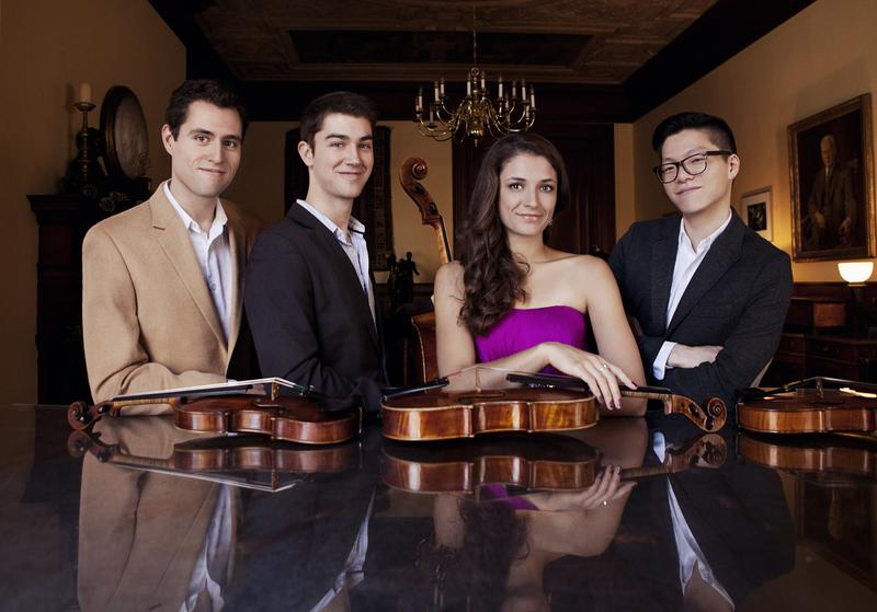 The Dover Quartet is one of this year's Avery Fisher Career Grant Recipients.