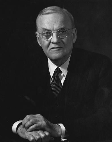 John Foster Dulles as a Senator from New York before he became Secretary of State.