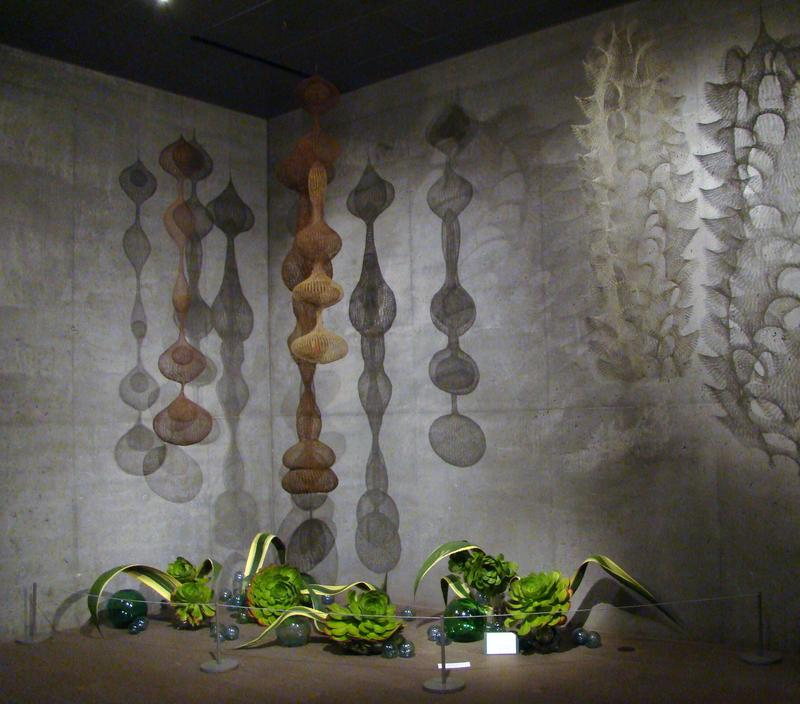 An exhibit of work by Artist Ruth Asawa.