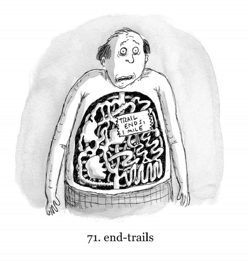 """Number 71: """"End trails,"""" by Roz Chast"""