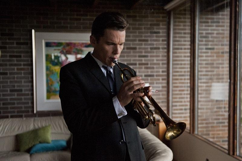 """Ethan Hawke (Chet Baker) in Robert Budreau's, """"Born to Be Blue."""""""