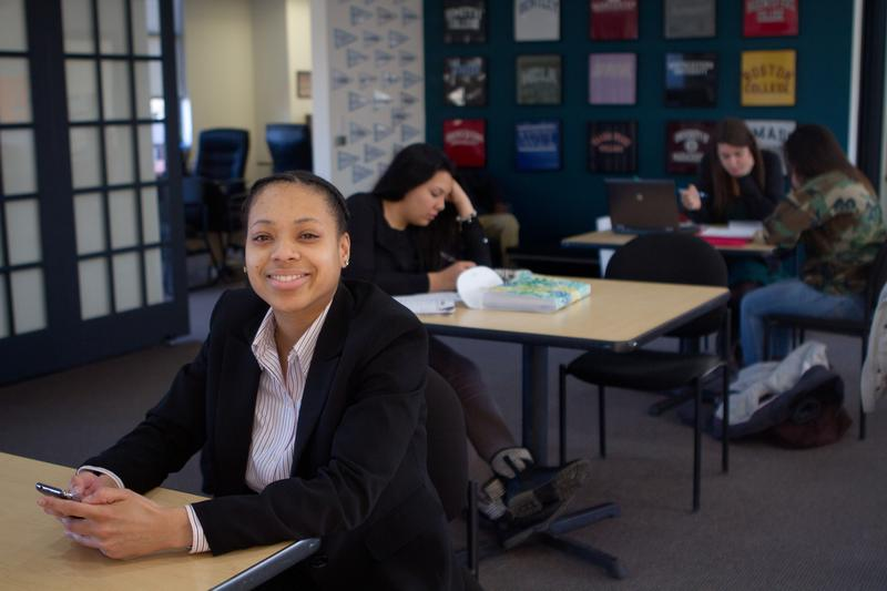 Nakia McKenzie had to transfer from St. Johns University because she couldn't afford the tuition.