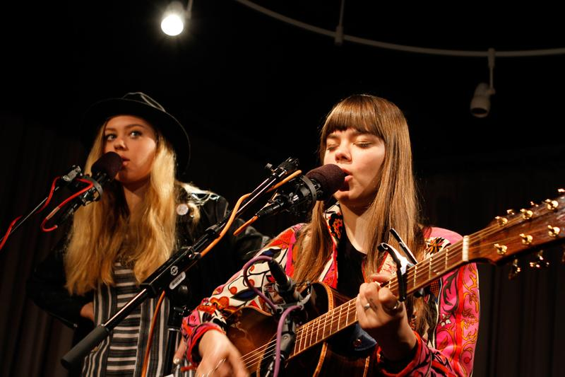 First Aid Kit performs in the Soundcheck studio.
