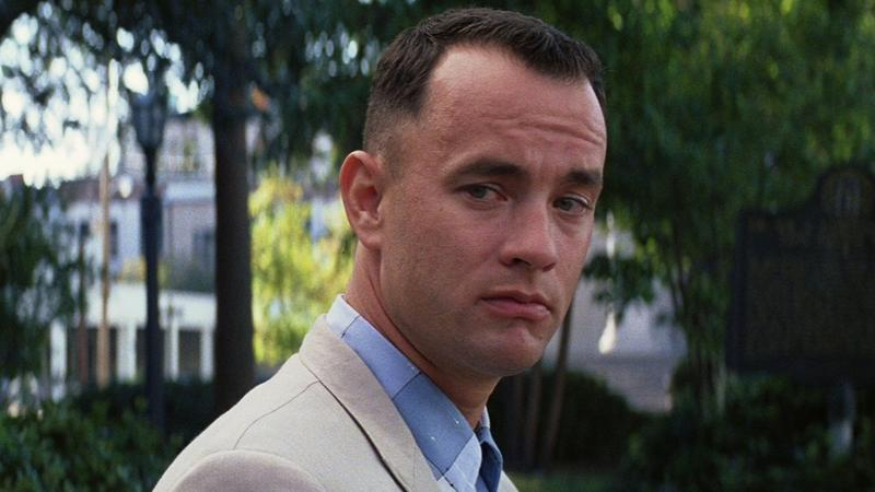 Forrest Gump quietly ponders how good the movie soundtrack was back in 1994.