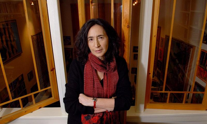 Writer Francine Prose poses in her Greenwich Village apartment, Monday, Feb. 26, 2007, in New York.
