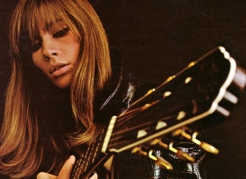 "Françoise Hardy ""Alone"" album cover (detail)"