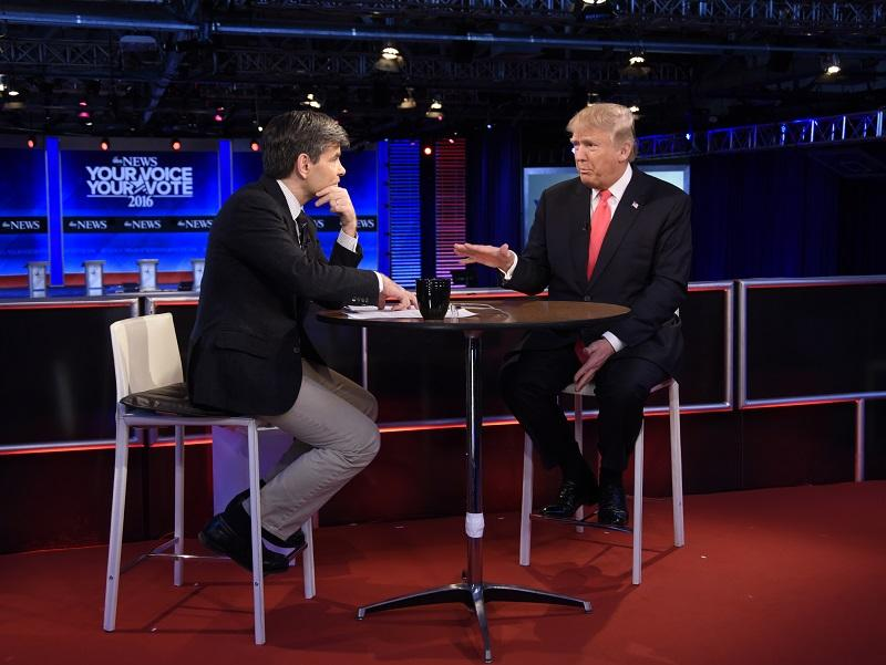 Following the Republican Presidential Debate, George Stephanopoulos interviews Donald Trump and Marco Rubio from St. Anselm College in Manchester, NH, airing on ABC.