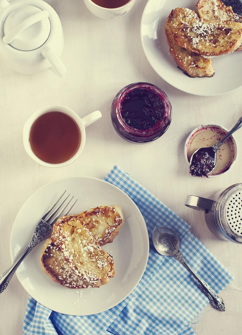 Breakfast with French toast