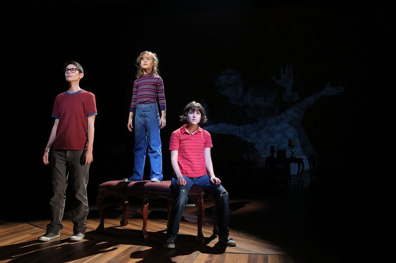 "The three Alisons in ""Fun Home"""