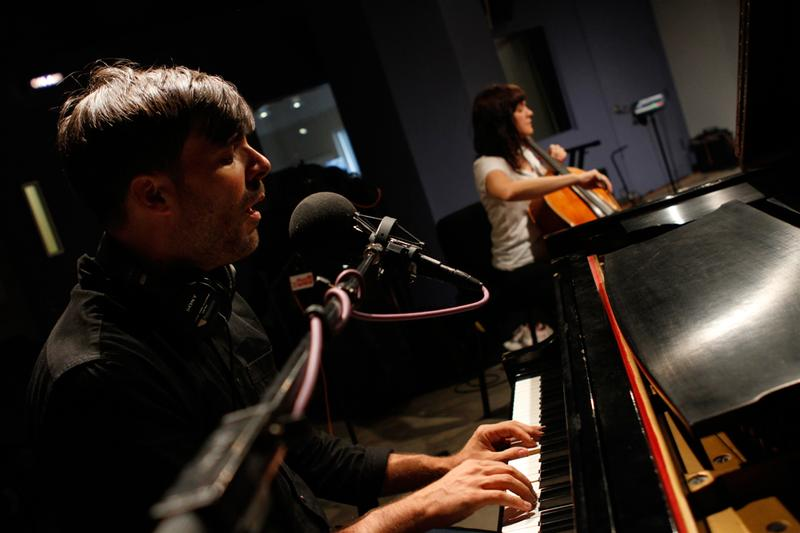 Gem Club performs in the Soundcheck studio.