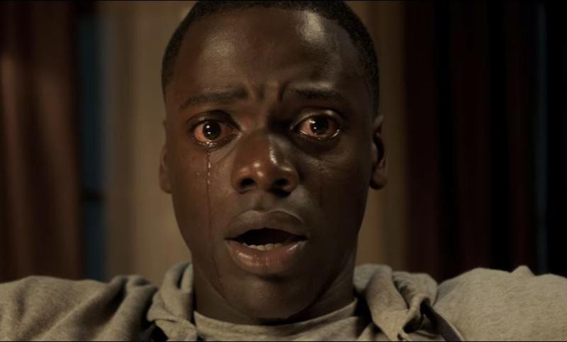 "Screenshot from the ""Get Out"" trailer."