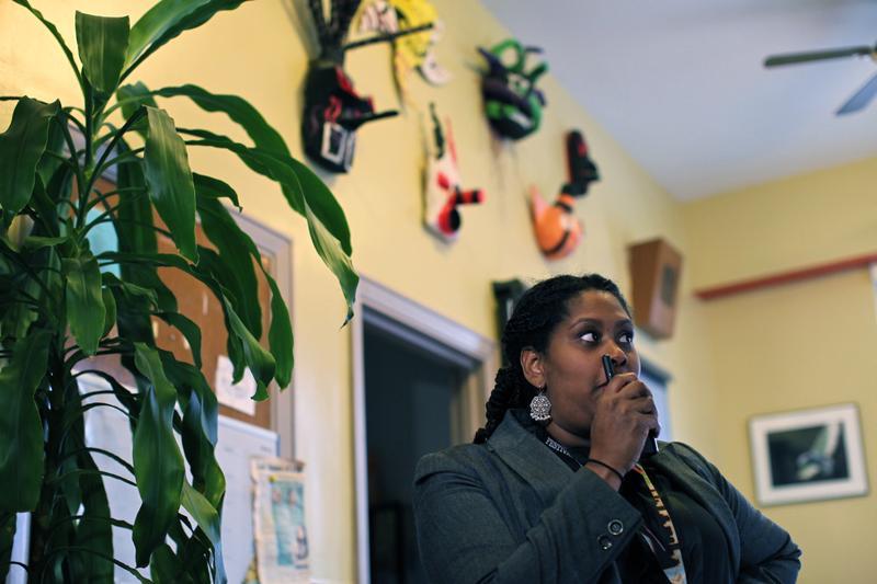Gloria Rosario is the principal of West Brooklyn Community High School