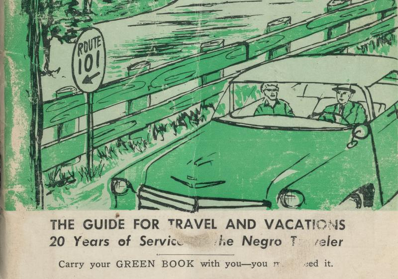 The cover of the 1956 Negro Travelers' Green Book.