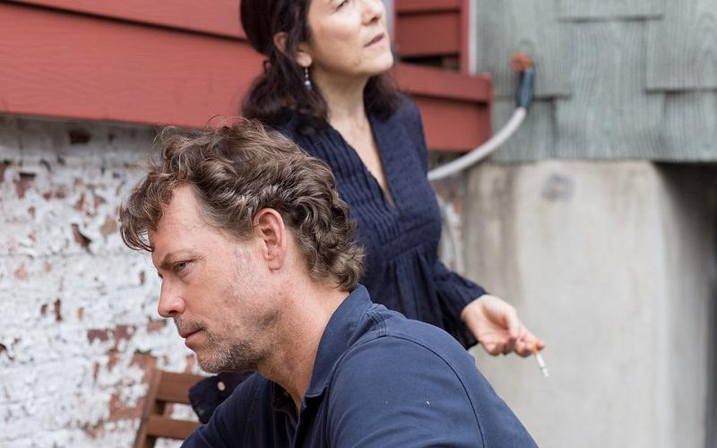 Greg Kinnear and Paulina Garcia in LITTLE MEN, a Magnolia Pictures release.