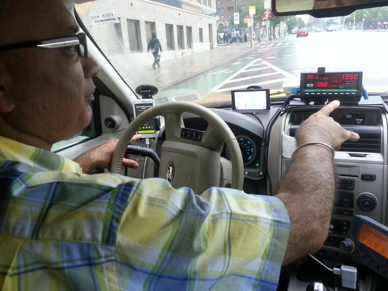This veteran cab driver is guided by new apps galore.