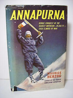 Cover of Maurice Herzog's 1952 account of the ascent of Annapurna.