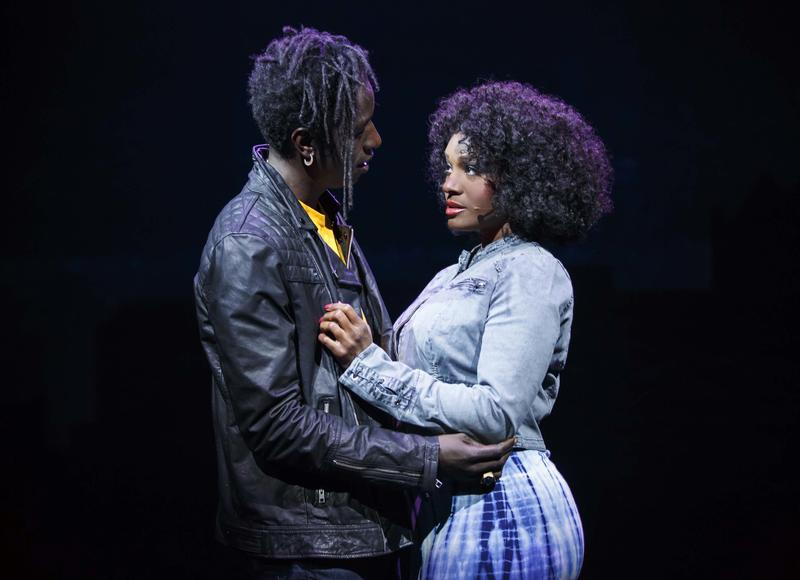 Saul Williams as John and Saycon Sengbloh as Corinne in 'Holler if Ya Hear Me.'