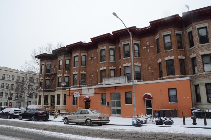 An illegal rooming house for parolees, sex offenders and the homeless in Flatbush, Brooklyn.