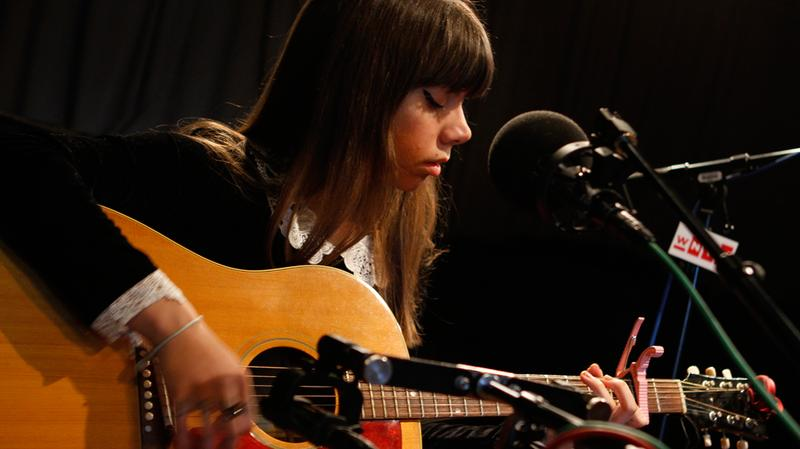 Hurray For The Riff Raff performs in the Soundcheck studio.