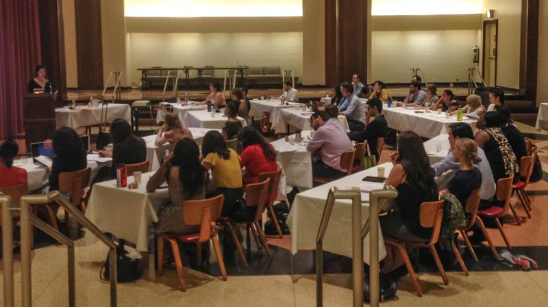 Immigrant Justice Corps' Training Session At Temple Emanu-El