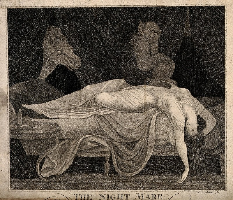 'The Nightmare', by M.Z.D. Schmid