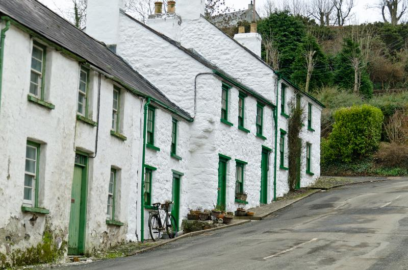 Irish village street
