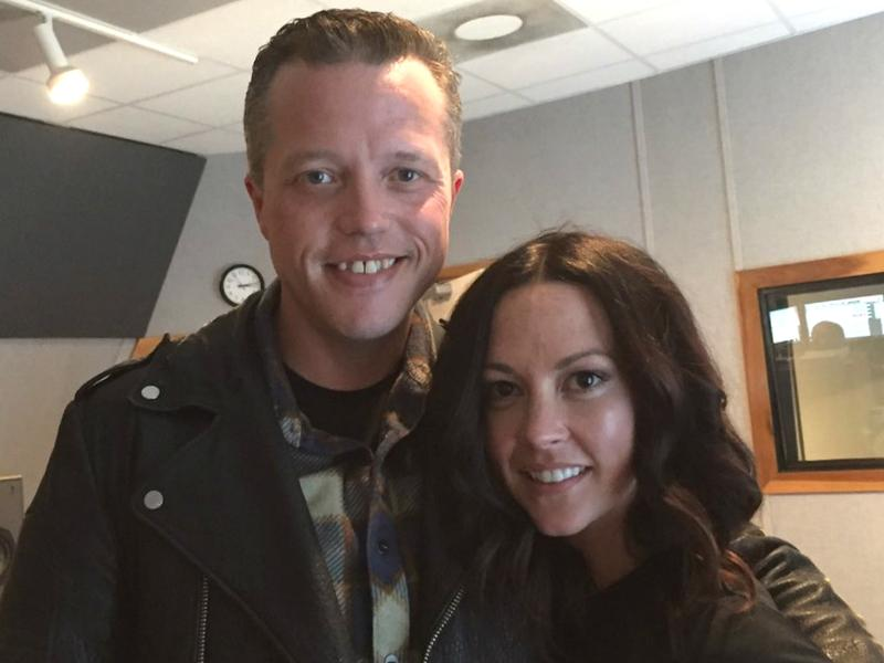 Jason Isbell and Amanda Shires.