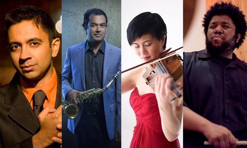 Vijay Iyer, Rudresh Mahanthappa, Jennifer Koh and Tyshawn Sorey