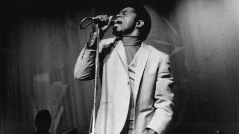 James Brown is the subject of Alex Gibney's new HBO documentary, Mr. Dynamite: The Rise of James Brown.