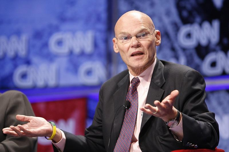 James Carville at the CNN Election Breakfast 2007 at Gotham Hall on October 16, 2007 in New York City.