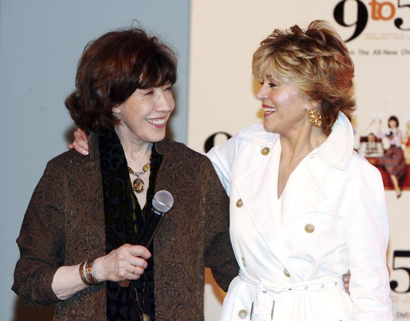 "Jane Fonda and Lily Tomlin, original stars of ""9-to-5,"" are back with the Netflix comedy ""Grace and Frankie"""