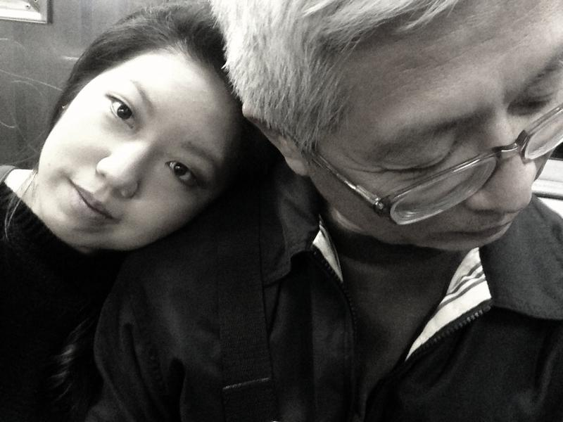 Jane Chung and her father, Paul Chung