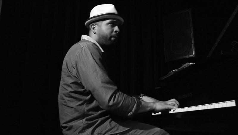Jason Moran performing with the Ralph Alessio Quartet at the Jazz Gallery in New York City on Friday, June 17, 2011.