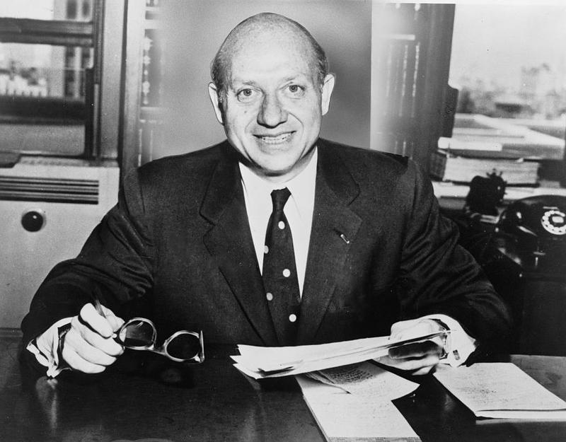 Senator Jacob Javits of New York in the 1950s.