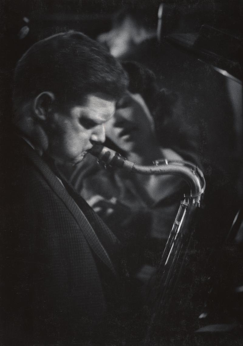 Zoot Sims is one of over one hundred notable jazz musicians whose music has been preserved on W. Eugene Smith's tapes.