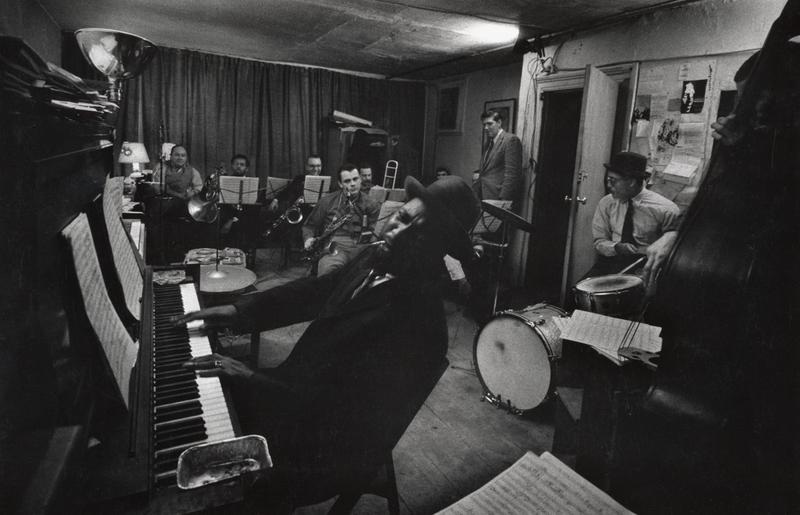 Thelonious Monk and the Tentet rehearsed at the Jazz Loft in 1959 before their famous show that February at Town Hall.
